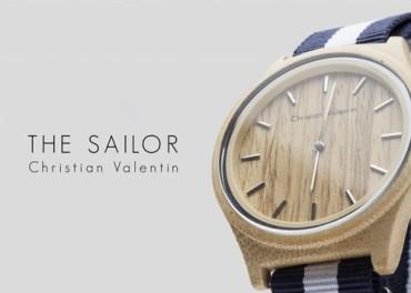Hand made часы в морской тематике