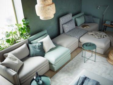 Компания ИКЕА запускает в продажу диванные модули ВАЛЛЕНТУНА
