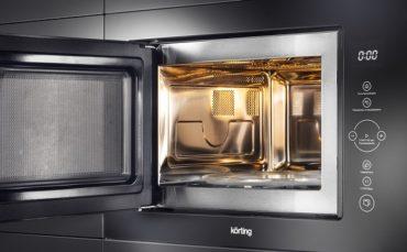 Новый ассортимент встраиваемых микроволновых печей Körting