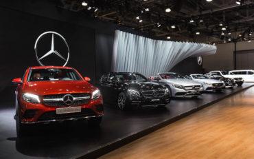 Mercedes-Benz Stars&Cars  на Московском международном автомобильном салоне 2016