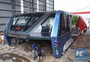 В Китае создан первый автобус-тоннель