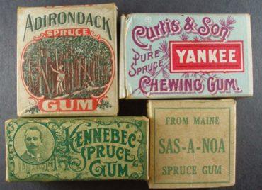 Теперь ты знаешь, что 23 сентября 1848 года, американец Джон Куртис у себя дома произвел первую жевательную резинку.