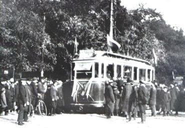 Теперь ты знаешь, 29 сентября 1907 года, в Петербурге состоялось торжественное открытие трамвайного движения.
