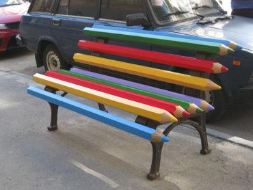 15 наиболее креативных скамеек