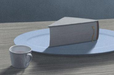 Сюрреалистичные рисунки для книголюбов