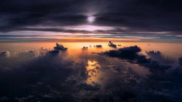 Удивительные фото из кабины пилота