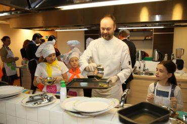 Открытие первой кулинарной онлайн-школы Nestle