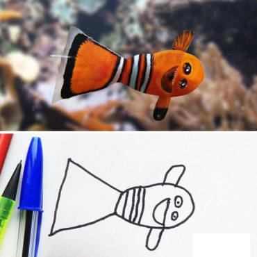 Если бы детские рисунки ожили…