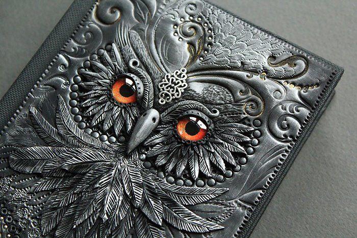 Обложка с совой