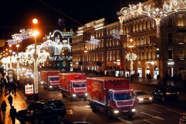 «Рождественский караван Coca-Cola» отправляется в волшебное путешествие