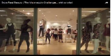 Dove перевернул #MannequinChallenge с ног на голову