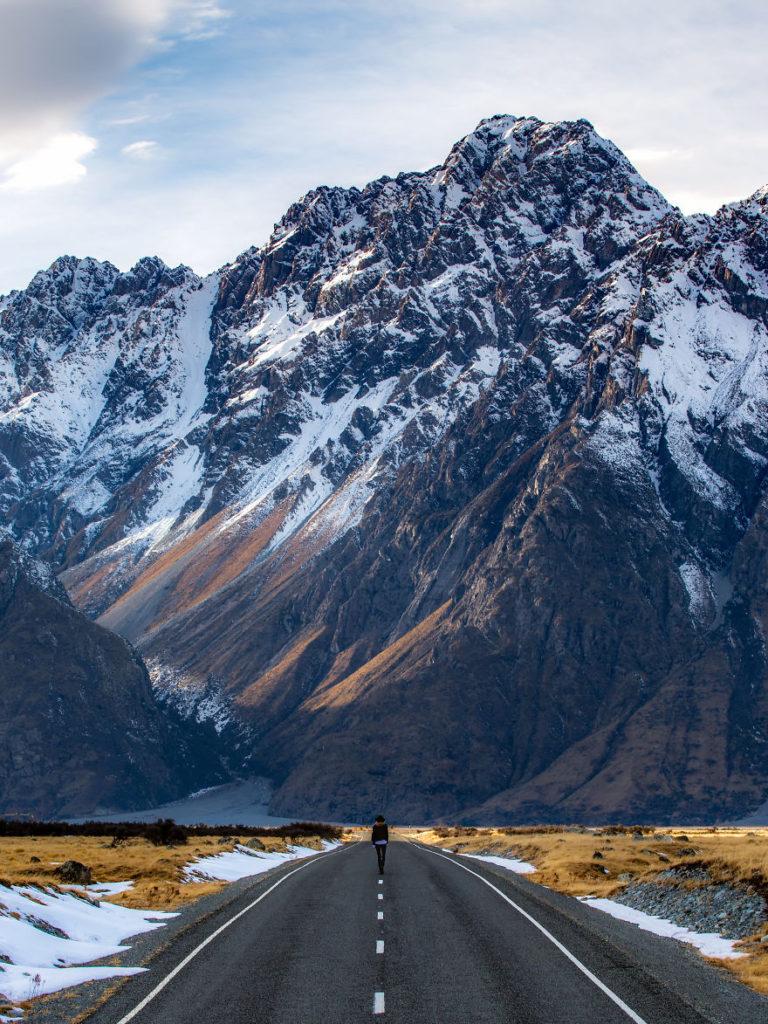 Гора Блекберн, Новая Зеландия