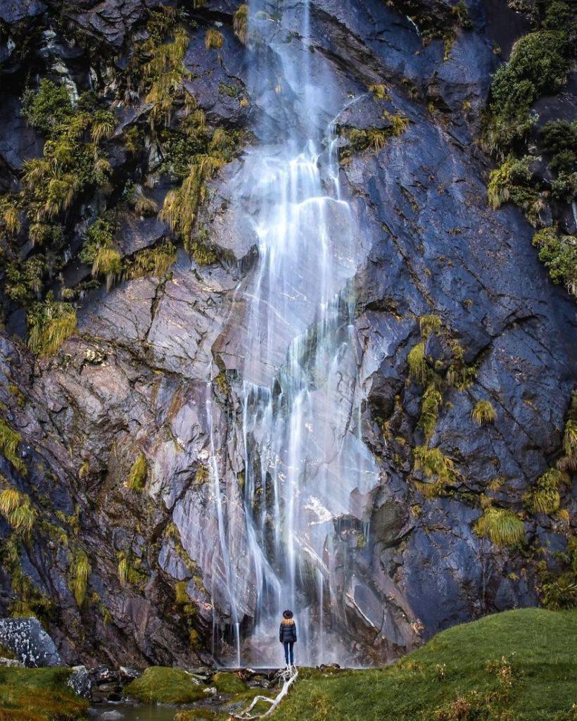 Водопад в Новой Зеландии