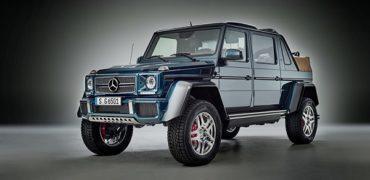 Икона бездорожья новый Mercedes-Maybach G 650 Landaulet