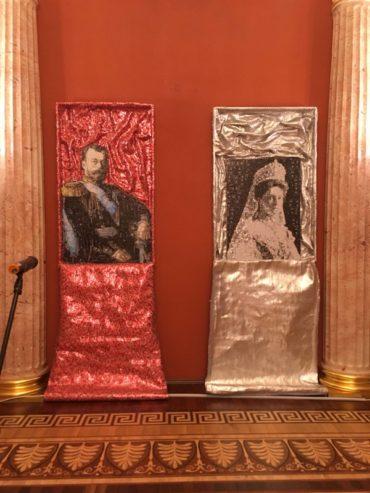 Семья Николая II в портретах греческого скульптора Никоса Флороса