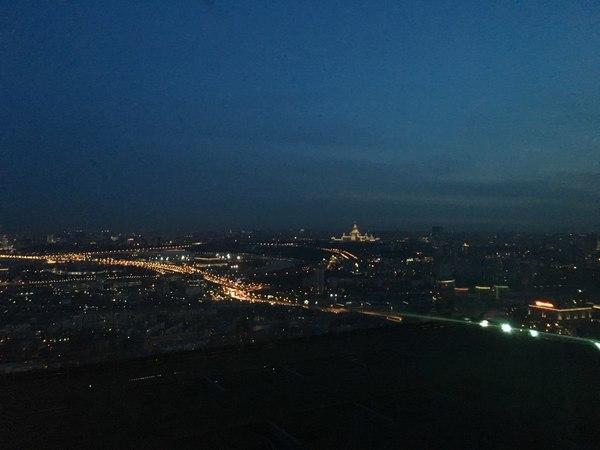 Смотровая Москва сити