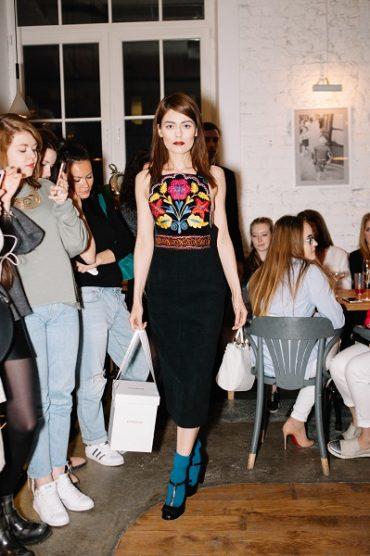 Показ FashionTime Designers прошел в ресторане «Счастье»