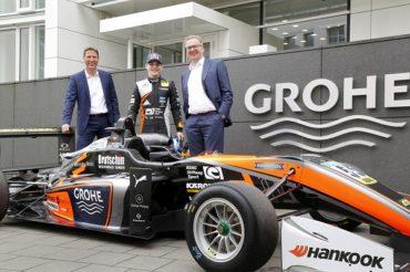 Компания GROHE стала спонсором гонок европейской серии Формулы 3