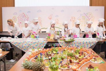 Kулинарный мастер-класс для взрослых и детей «Нестле»