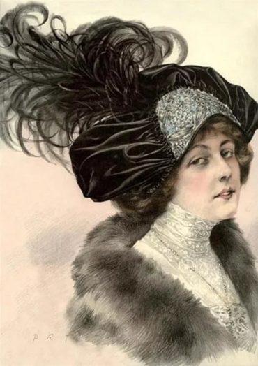 Огромная коллекция шляпок и бижутерии  на слете коллекционеров