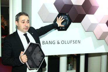 Презентация новой акустической системы от Bang & Olufen