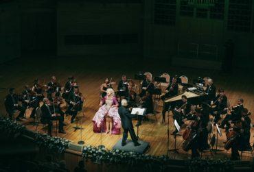 Владимир Спиваков и Симона Кермес открыли XV юбилейный сезон Дома музыки в Светлановском зале