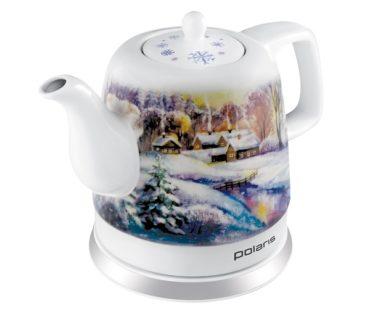 Новогодняя коллекция чайников Polaris создаст праздничную атмосферу в доме