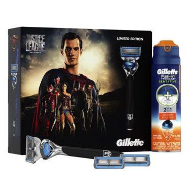 Gillette создает новое поколение бритв для супергероев