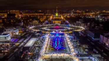 Главный каток страны откроется 1 декабря 2017 года на ВДНХ