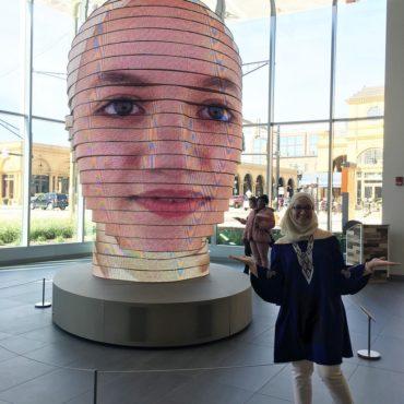 Интерактивная скульптура «Как мы»