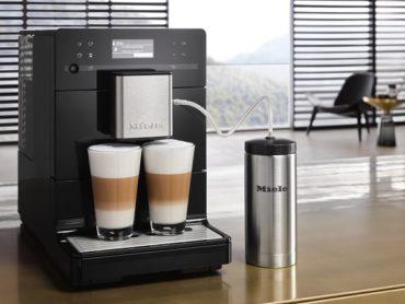 Наслаждение удовольствием – новые отдельно стоящие кофемашины Miele серии CM5