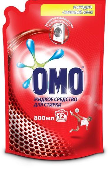 Моющие средства ОМО теперь в России
