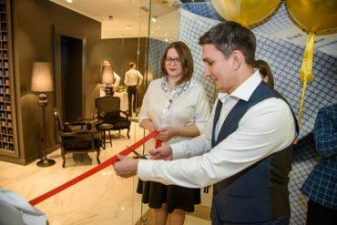 Открыт бутик первого российского премиального бренда мужских сорочек