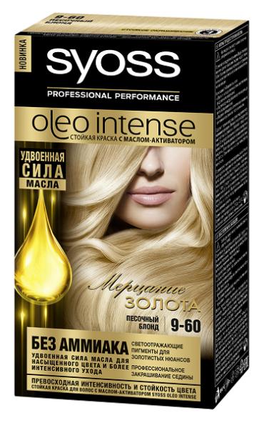Двойная сила масла для роскошного цвета и здоровья ваших волос со SYOSS Oleo Intense