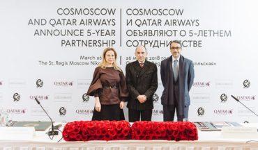 Авиакомпания Qatar Airways укрепляет связи с Россией и вносит свой вклад в искусство