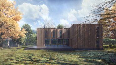 Экологичность и современная эстетика – презентация проекта «Villa Istra»