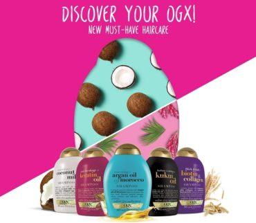 Известный во всем мире премиальный бренд по уходу за волосами OGX® пришел в Россию!