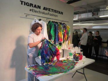 ELECTROLUX представила новую коллекцию техники по уходу за бельем совместно с дизайнером Тиграном Аветисяном