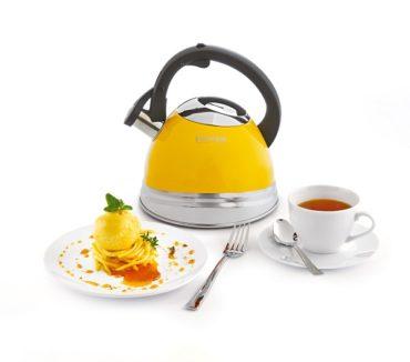 Чайник Solo от Röndell — смелый дизайн в солнечном цвете