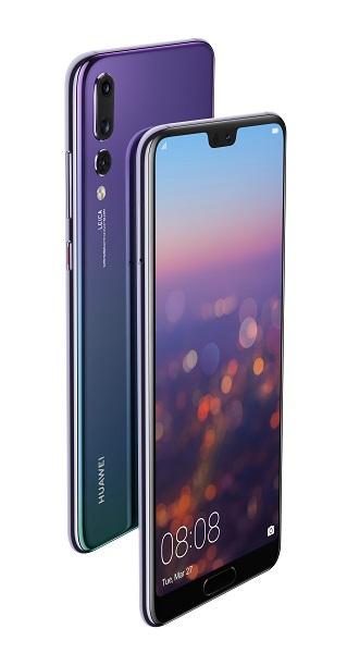 Смартфон Huawei P20 Pro в сумеречном цвете уже в России