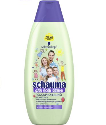 Шампунь Schauma Для всей семьи: уход и экономия в одном флаконе