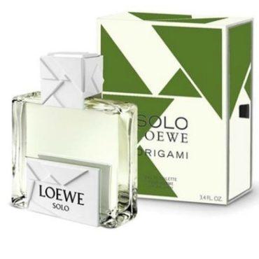 Новая туалетная вода Solo Loewe Origami