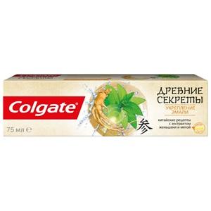 Colgate «Древние секреты» с использованием природных ингредиентов