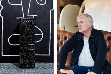 Дизайн и искусство объединились на корпусе холодильника SMEG с помощью кисти художника Тьери Нуара