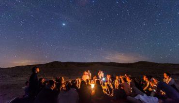 Месяц падающих звезд в Израиле