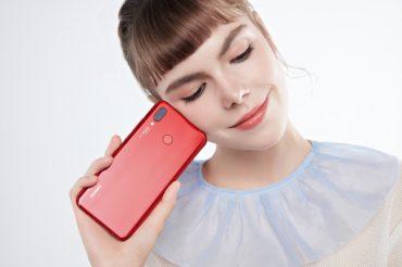 Huawei Представляет Huawei nova 3 в Красном Цвете