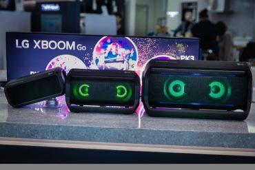 Портативные Акустические Системы LG XBOOM Go Серии PK