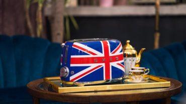 Тостер SMEG Расцветки Union Jack