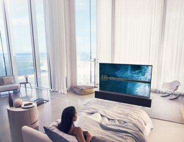 LG открывает Эпоху Телевизоров Будущего  с Первым в Мире Сворачиваемым OLED-Телевизором