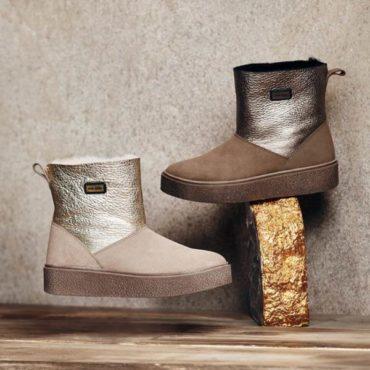 Jog Dog Обувь с Натуральным Мехом